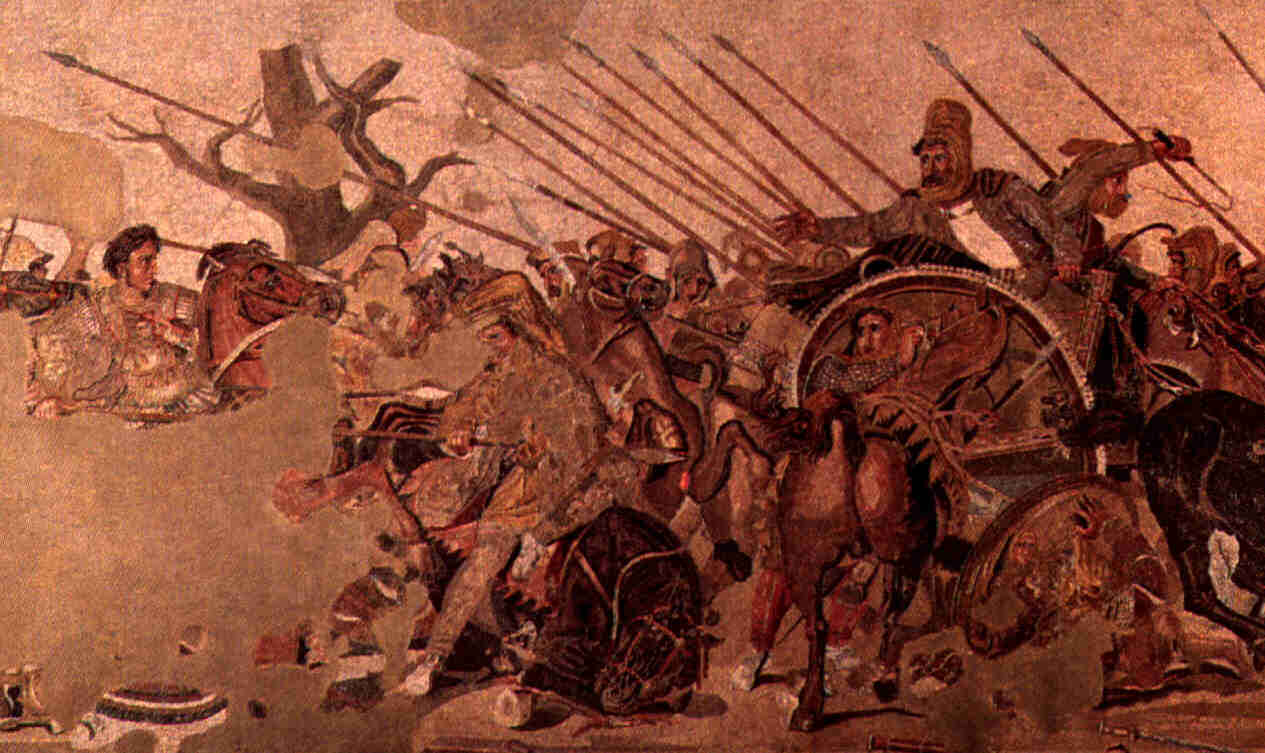 Alexander the Great (Hellenistic mosaic)